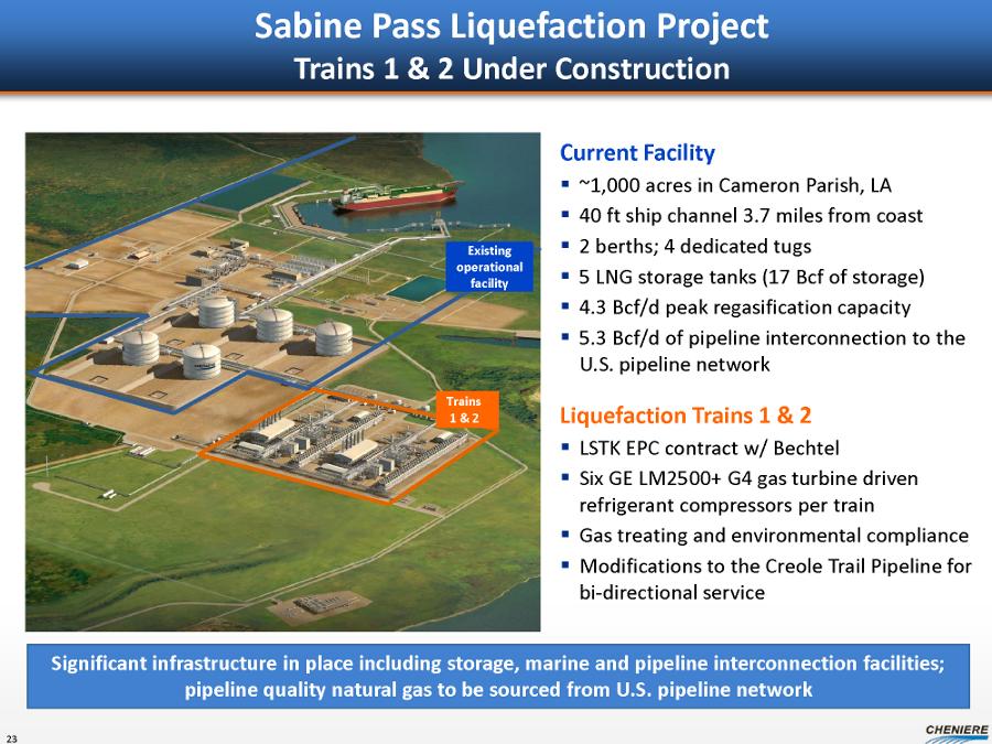 Cheniere Port Arthur Industrial Construction Project
