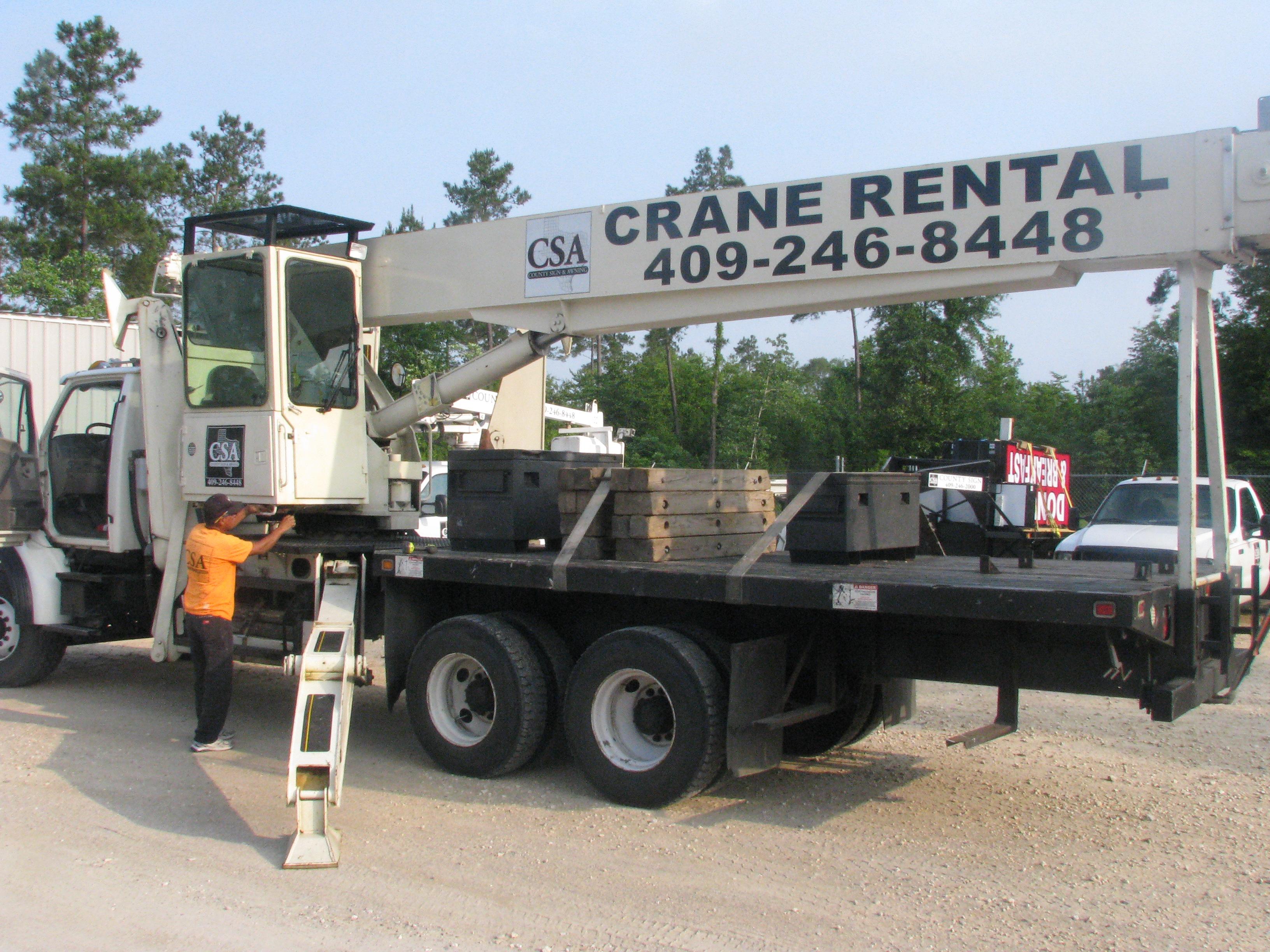 crane rental, crane rental Beaumont, crane rental Lufkin, crane rental Port Arthur,