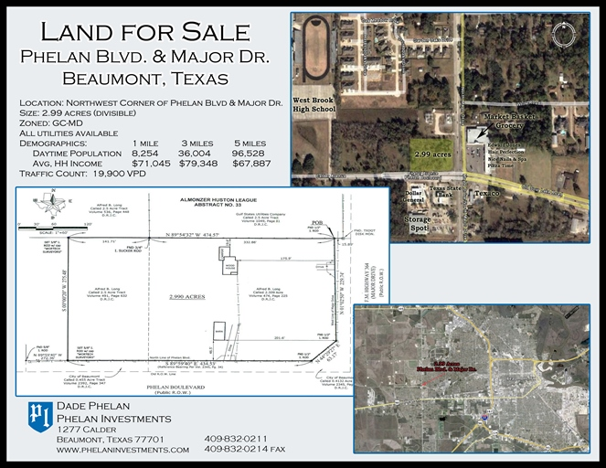 Phelans Investments Beaumont Commercial Property