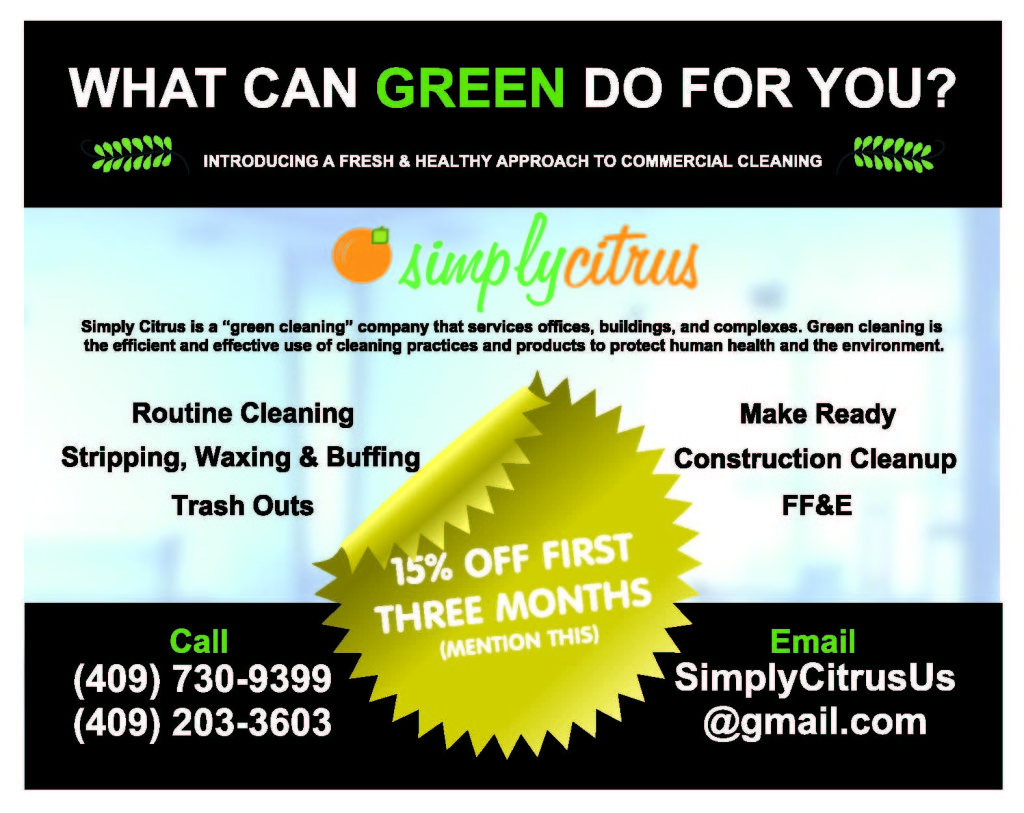 green cleaning SETX
