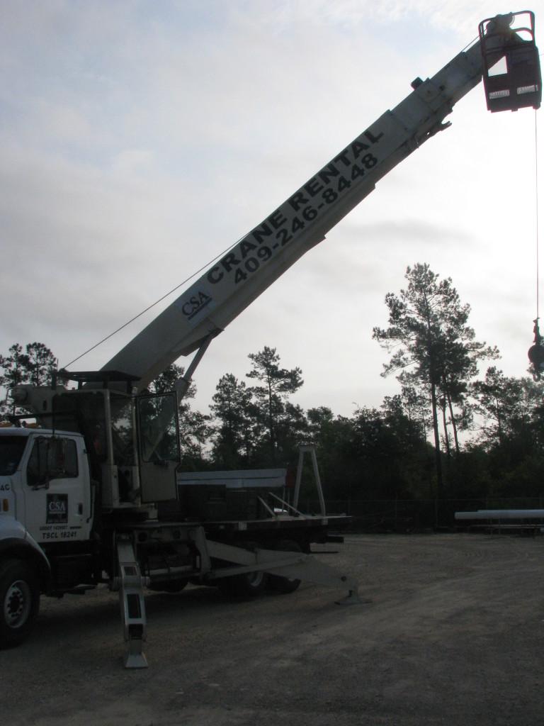 Silsbee crane rental