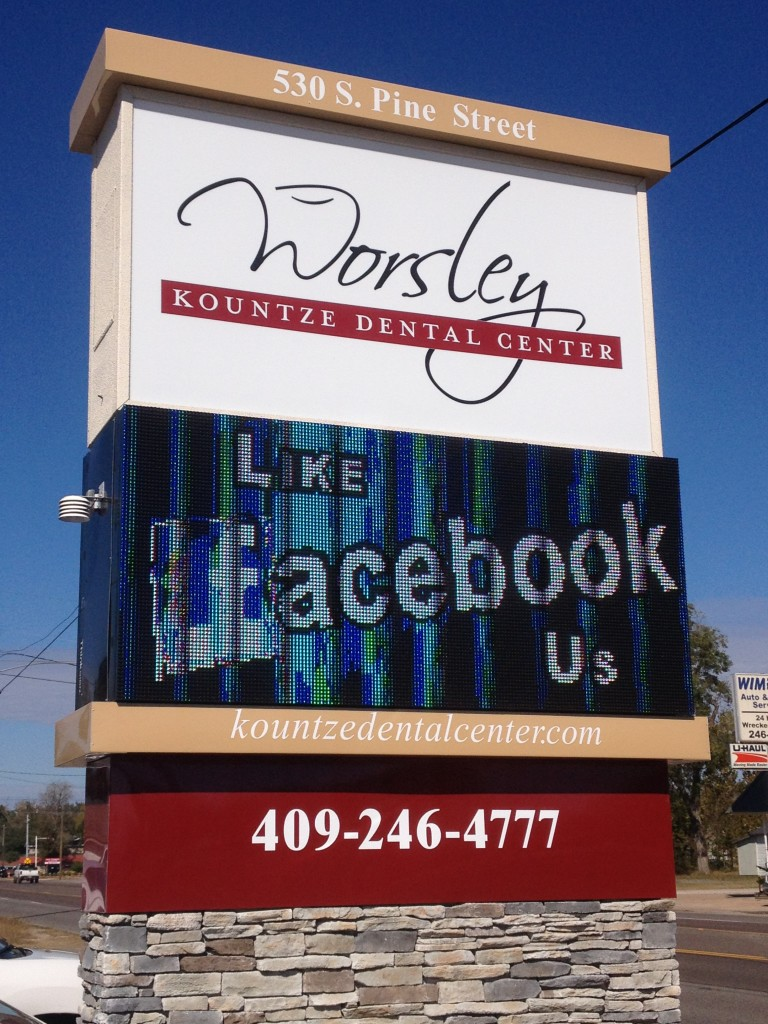 County Sign Dr. Worsley Commercial Signs Kountze Tx