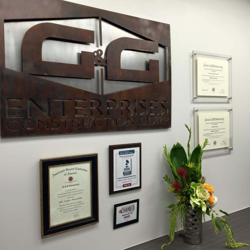 G and G Construction - Southeast Texas Contractors