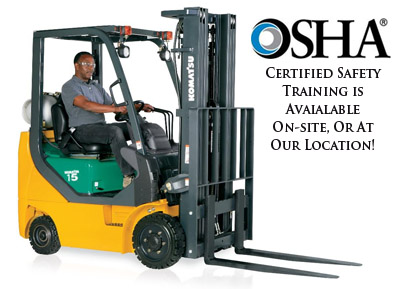 Forklift Operator Training Beaumont