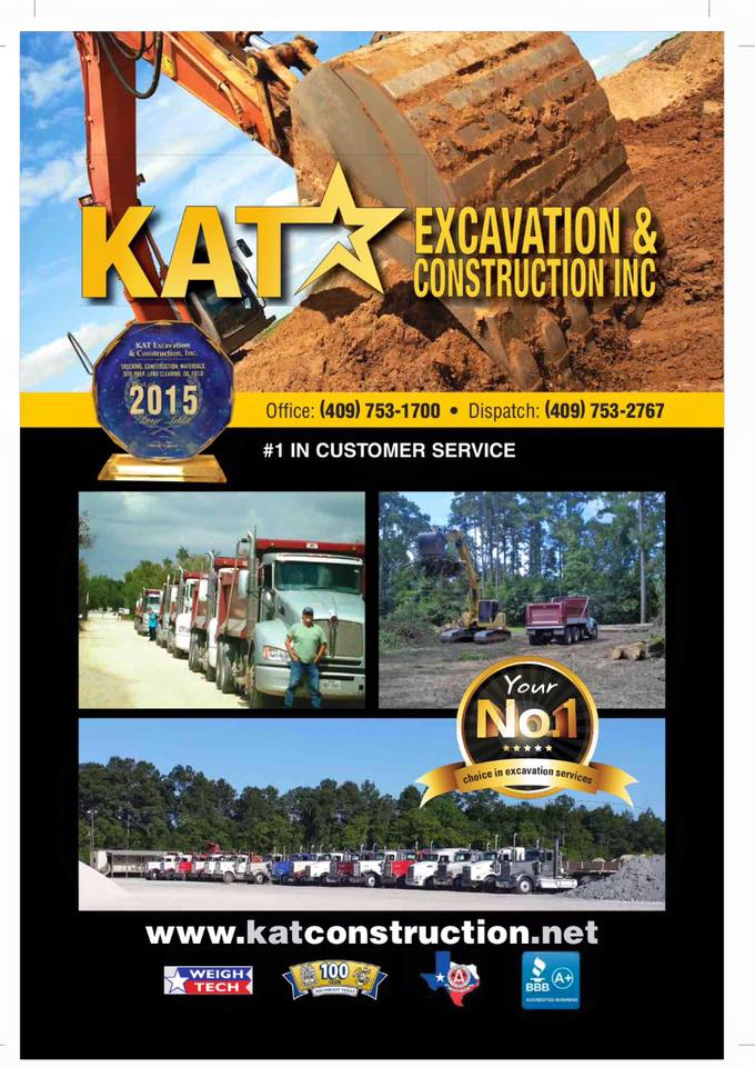 KAT Excavation and Construction, Tank Pad Contractor Southeast Texas, AGC of Southeast Texas Member Southeast Texas, AGC of Southeast Texas Member SETX, AGC of Southeast Texas Member Golden Triangle Tx, AGC of Southeast Texas Member Beaumont Tx, AGC of Southeast Texas Member Port Arthur, AGC of Southeast Texas Member Nederland Tx,
