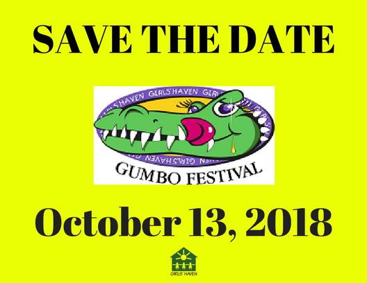 Girl's Haven Beaumont, Gumbo Fest Beaumont, Girl's Haven Gumbo Fest, Event Guide Beaumont TX, Event Calendar Southeast Texas, Golden Triangle event guide