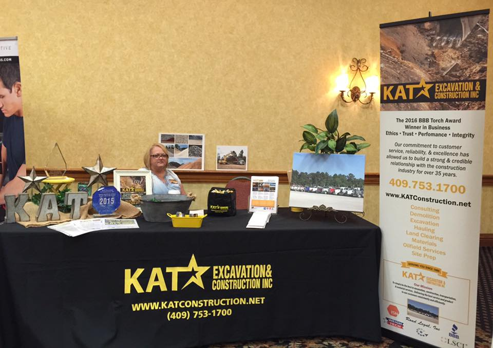 KAT Excavation & Construction, Oilfield Services Beaumont TX, Pipeline Contractors Port Arthur, Orange TX construction materials, BBB Torch Award Beaumont TX