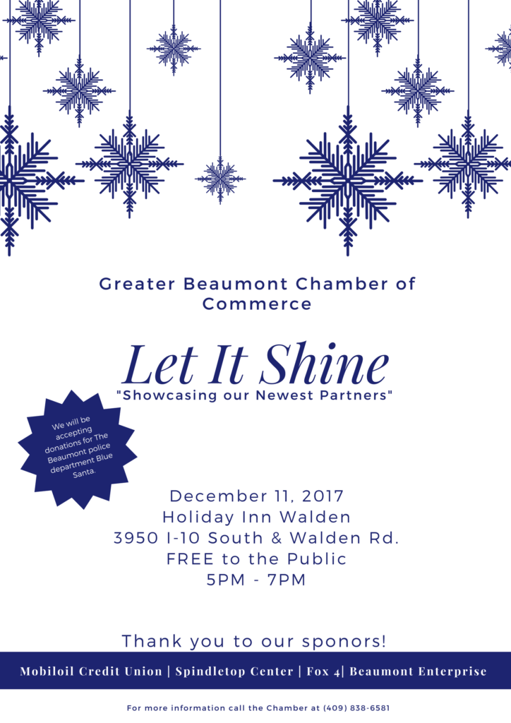 Let it Shine Beaumont, Networking Events Beaumont TX, Networking Meeting Southeast Texas, Networking in the Golden Triangle, Grow Your Business Southeast Texas, Referrals Beaumont TX
