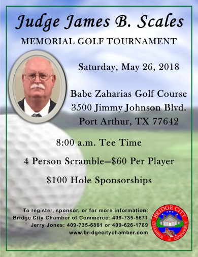 Judge Scales Golf Tournament, Golf Tournament Bridge City TX, Golf Mid County, Golf Southeast Texas, SETX Golf Tournaments, golf tournament Port Arthur, Golf Tournament Babe Zaharias