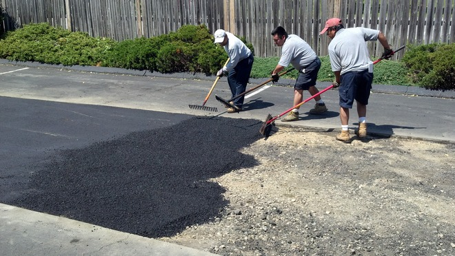 SETX asphalt repair, parking lot repair Port Arthur, Southeast Texas parking lot sweeping, sweeper trucks Beaumont,
