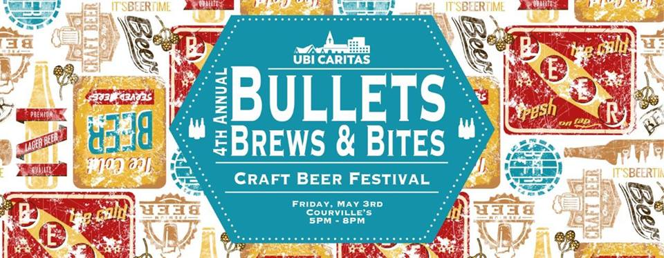 Bullets Brews and Bites, Bullets Brews and Bites 2019, Courville's Beaumont, Rich Courville, Denise Berry, Beaumont Events, SETX events, Southeast Texas events, craft beer Beaumont TX,